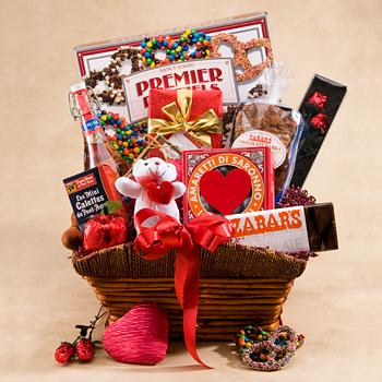 Zabar's Valentines Sweets Basket