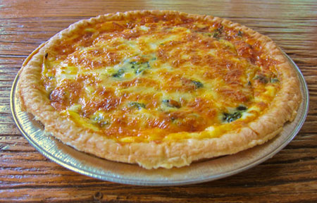 Recipes Blog: Spinach and Goat Cheese Quiche Recipe