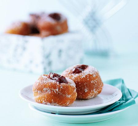 Recipes Blog Chanukah Jelly Doughnuts Soufganiot