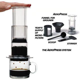 Aeropress Coffee Maker Demo : Zabar s Blog: Last Days for Aerobie Aeropress Espresso & Coffee Maker Web-Only Offer!