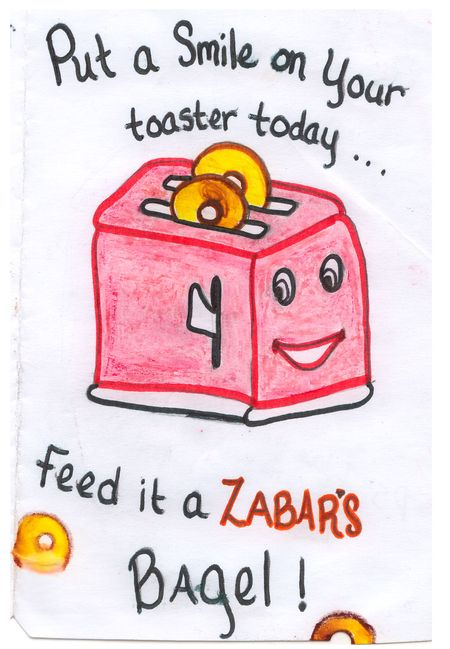 Toaster-letter