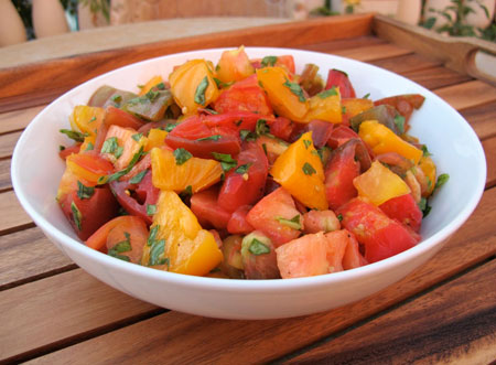 Marinated-Heirloom-Tomato-Salad