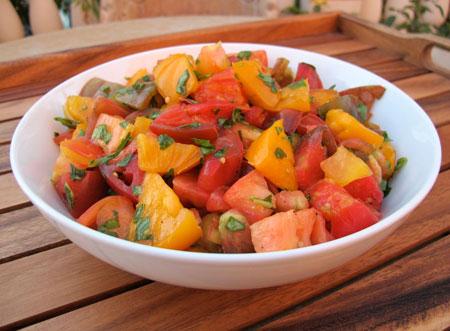 Marinated-Heirloom-Tomato-Salad
