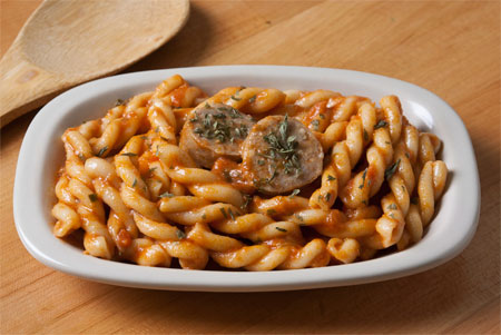 Recipes Blog Gemelli With Sweet Italian Sausage