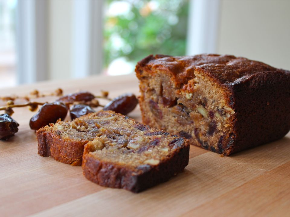 Cake recipes with dates and nuts