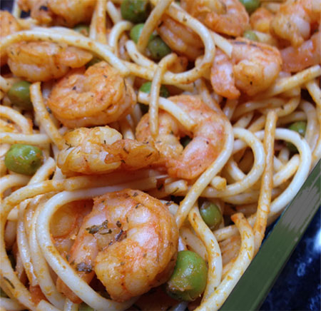 Zabars blog a new recipe for garlic shrimp pasta with just a few ingredients that are easy to always have on hand this could become one of your go to dishes forumfinder Choice Image