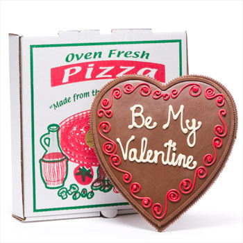 Chocolate-valentine-heart-shaped-pizza