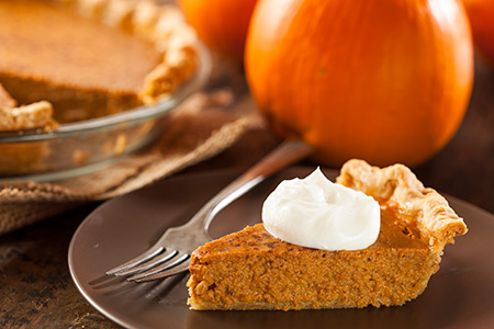 Ina Garten Pumpkin Pie recipes blog: pumpkin pie with cinnamon whipped cream