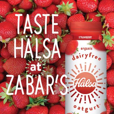 TASTE HALSA AT ZABAR's