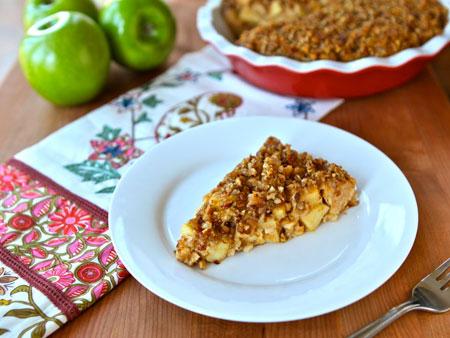 Passover Apple Pecan Pie