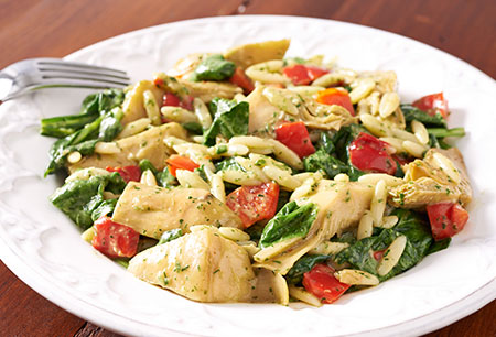 450-Artichoke-Spinach-Orzo-Salad