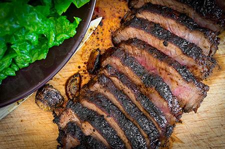 Steak-serving