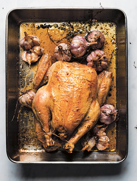 Zabar's Blog: Recipe for Roast Chicken with Whole Garlic Heads from