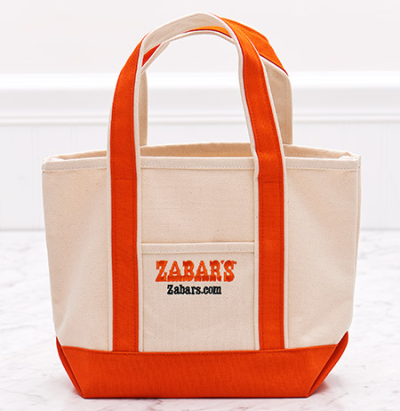 450-Zabars-Signature-Small-Canvas-Tote-Bag