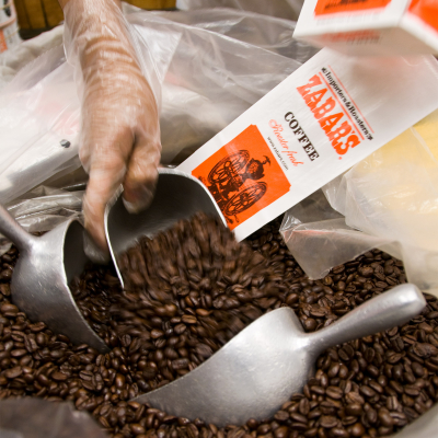 Zabars-coffee-counter