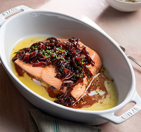 450-Slow-Roasted-Salmon-with-Sunchoke-Pure-and-Sweet-Sour-Onions
