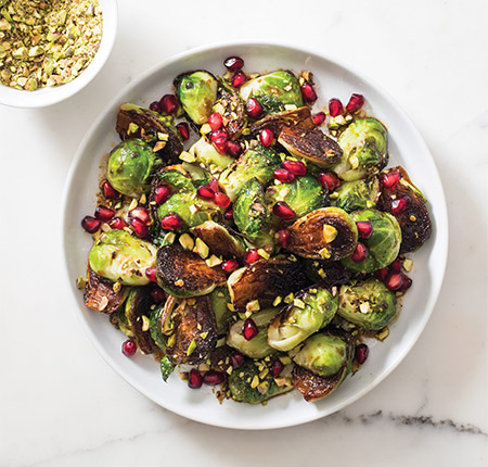 450-SFS_Skillet_roasted_brussels_sprouts_pomegranate_pistachio